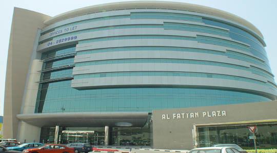 Project : Al Fattan Plaza - Deira Dubai - Completed view